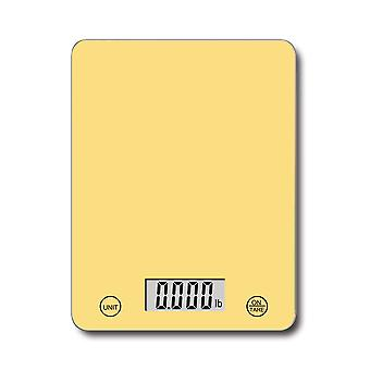 Kabalo 5kg Yellow Digital LCD Electronic Kitchen Cooking Baking Prep Food Preparation Weegschalen UK