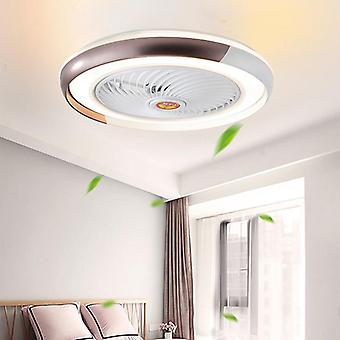 Smart Ceiling Fan With Led Lights And Remote - Wifi Mobile App Living Room
