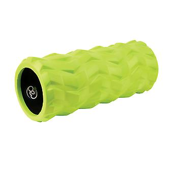 Fitness Mad Tread EVA Roller Green 32cm Portable Lightweight Exercise Muscles