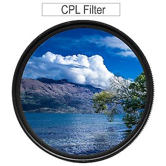 Cpl Circular Polarizing Filter For Canon/nikon/sony/fujifilm