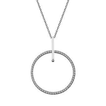 Hot Diamonds Silver 35mm Constant Circle Pendant DP717