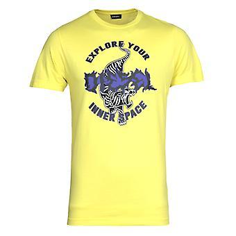 Diesel T-Diego B15 Maglietta Yellow T-Shirt