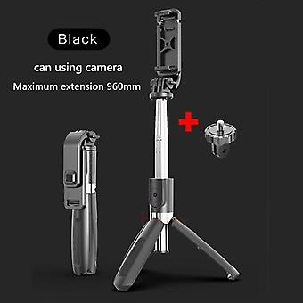 Upgraded Version Of Wireless Bluetooth Selfie Stick With Extendable Foldable Tripod