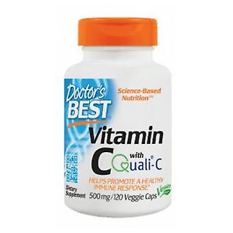 Lääkärit Paras C-vitamiini Quali, 500 mg, 120 Kasvismyssyt