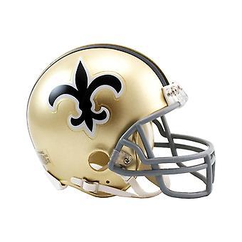 Riddell VSR4 Mini Football Helmet - New Orleans Saints 1967-75