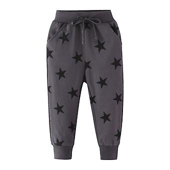 Boys Trousers Pant With Stars Printed Baby Sweatpants Long Sport Pants For Boys/ Girls/ Kids