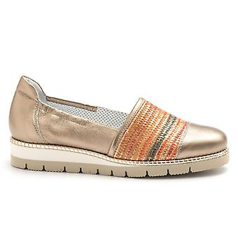 Slip On Alfredo Giantin kulta Rafia Multicolor