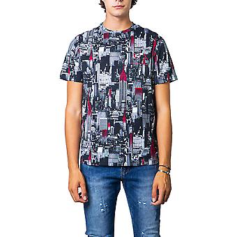 Armani exchange all over printed men t-shirt