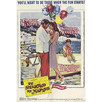 It Started in Naples Movie Poster Print (27 x 40)