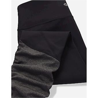 Brand - Core 10 Women's Icon Series - The Ballerina Plus Size Yoga Legging, Black, 1X