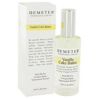 Demeter Vanille Kuchen Teig von Demeter Köln Spray 4 Oz (Frauen) V728-419606
