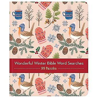underbara winterful bibeln ord sökningar: 99 pussel!