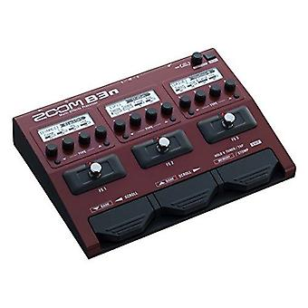 Zoom b3n multi-effects processor til bassister