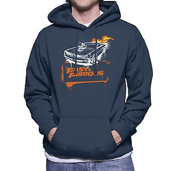 Fast and Furious Dodge Charger Flame Men's Sweatshirt à capuchon