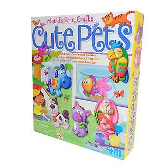 Childs mugg og maling kjæledyr håndverk kit