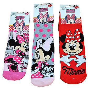 1 par Disney Minnie tykke slip sokker