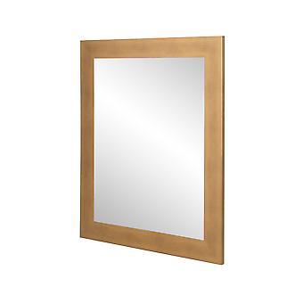 Brossé Gold Wall Mirror 32'' X 36''