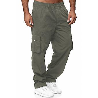 Pantalon thermo cargo Lined Pantalons de travail extérieurs Winter Fleece Stretch Waistband