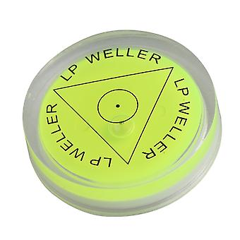 Green Circular Bubble Spirit Level pour vinyl record player turntable