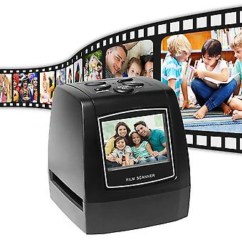 Portable 5mp 35mm Negative Film Scanner Negative Slide Photo Film Converts Usb
