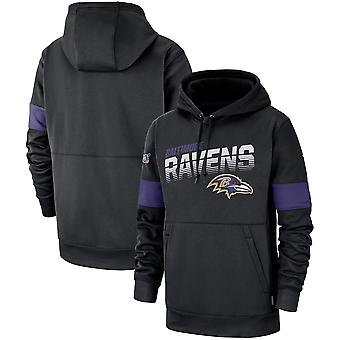 Baltimore Ravens Performance Pullover Hoodie - Preto