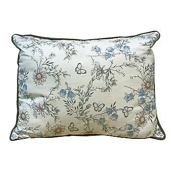 Secret Garden Cushion - Blue