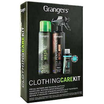 Grangers Clothing Care Kit - 300ml/275ml/60ml