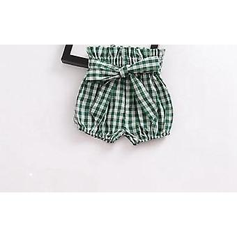 Baby Shorts, Cotton Flower Patterns Lantern Pants Trousers
