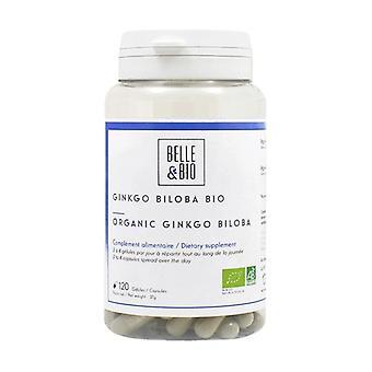 Ginkgo Biloba orgaaninen 120 kasviskapselia
