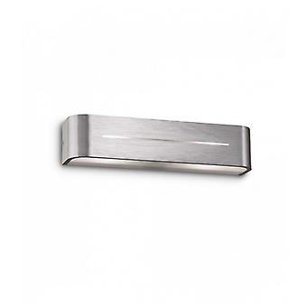 Aplique De Aluminio Posta 2 Bombillas