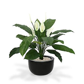 Artificial Spathiphyllum King 100cm x6
