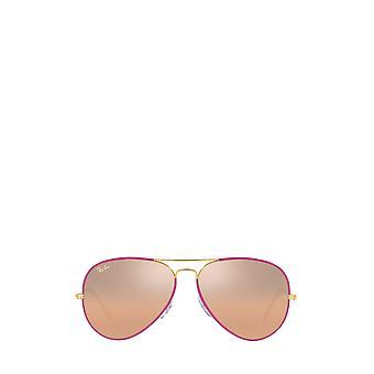 Ray-Ban RB3025JM viola su legenda oro unisex occhiali da sole