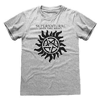 Supernatural Unisex Adult Logo T-Shirt