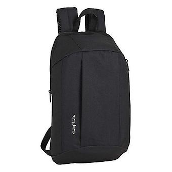 Casual backpack safta black
