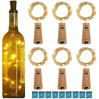 20Led Garland Copper Wire Corker String Fairy Lights For Glass Craft Bottle