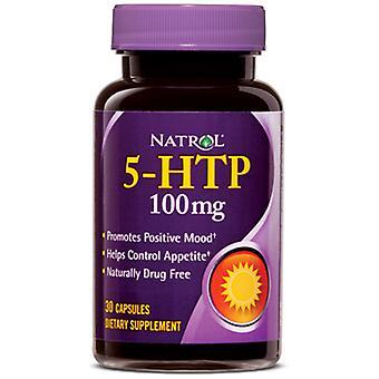 Natrol 5-Htp 100 mg 30 Cápsulas