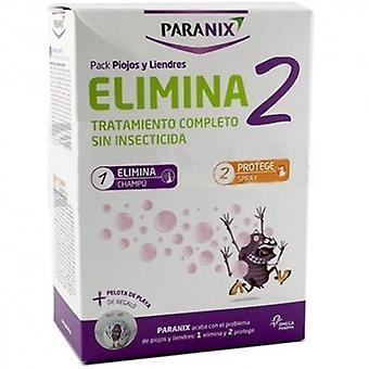 Paranix Eliminate 2 Lice and Nit Treatment Shampoo + Spray