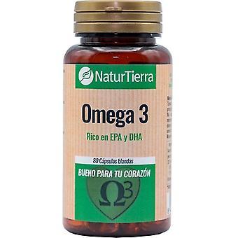 Naturtierra Omega 3 80 Pearls