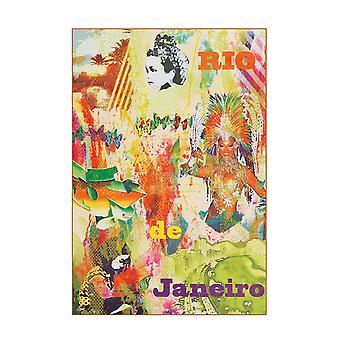 Ferdes Rug Hojo Rio multicolore