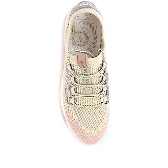 Bugatti Femmes Lace-Up Wedge Trainers