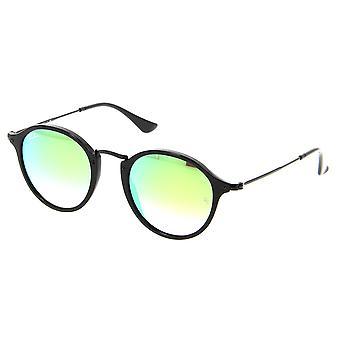 Ray-Ban Round Fleck Flash Lenses Gradient Sunglasses RB2447-901/4J-49