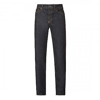Diesel D-Fining Tapered Stretch Raw Denim Blue Jeans 009HF