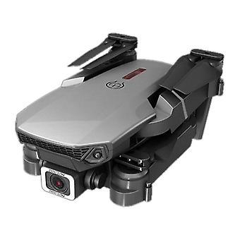 E88 drone med 4k fhd wifi dubbla kameror live video huvudlöst läge 2.4ghz 6 ch 4 axel gyro med handhållen fjärrkontroll