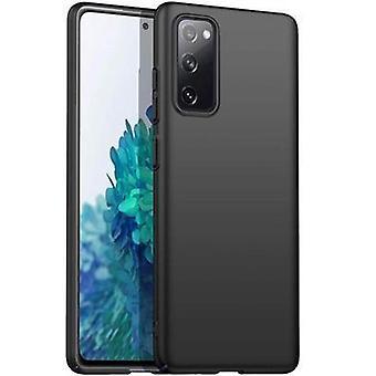 Ohut musta kotelo Samsung Galaxy S20 FE: lle