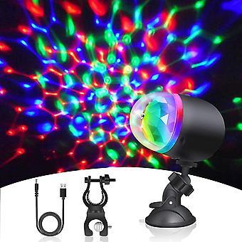 FengChun LED Discokugel Discolicht, USB Wiederaufladbare Mini Party lichter mit Saugnapf und