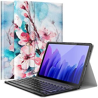 FengChun Tastatur Hülle Kompatibel mit Samsung Galaxy Tab A7 2020 10.4 Zoll Modell (SM-T500/505/507),