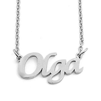 KL Kigu Olga - Women's necklace with customizable name, trendy jewelry, gift for girlfriend, mom, sister