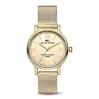 River Woods Analog Quartz Watch Woman with Stainless Steel Strap RW340032