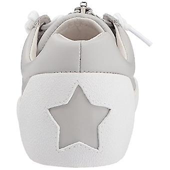 الرماد السكينة النسائي الجلود الزمام أعلى انخفاض الأزياء أحذية رياضية