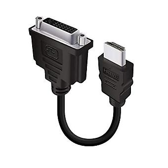 ALOGIC DVI-D (Male) to HDMI (Female) Adapter Cable ? 15CM